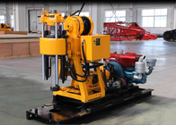 Advanced Skid Type Core Drilling Rig With Hydraulic Customer Color