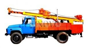 40KW / 53.6hp Drilling Capacity 300M Geological Drilling Rig ST-200 Mobile Drilling Rigs