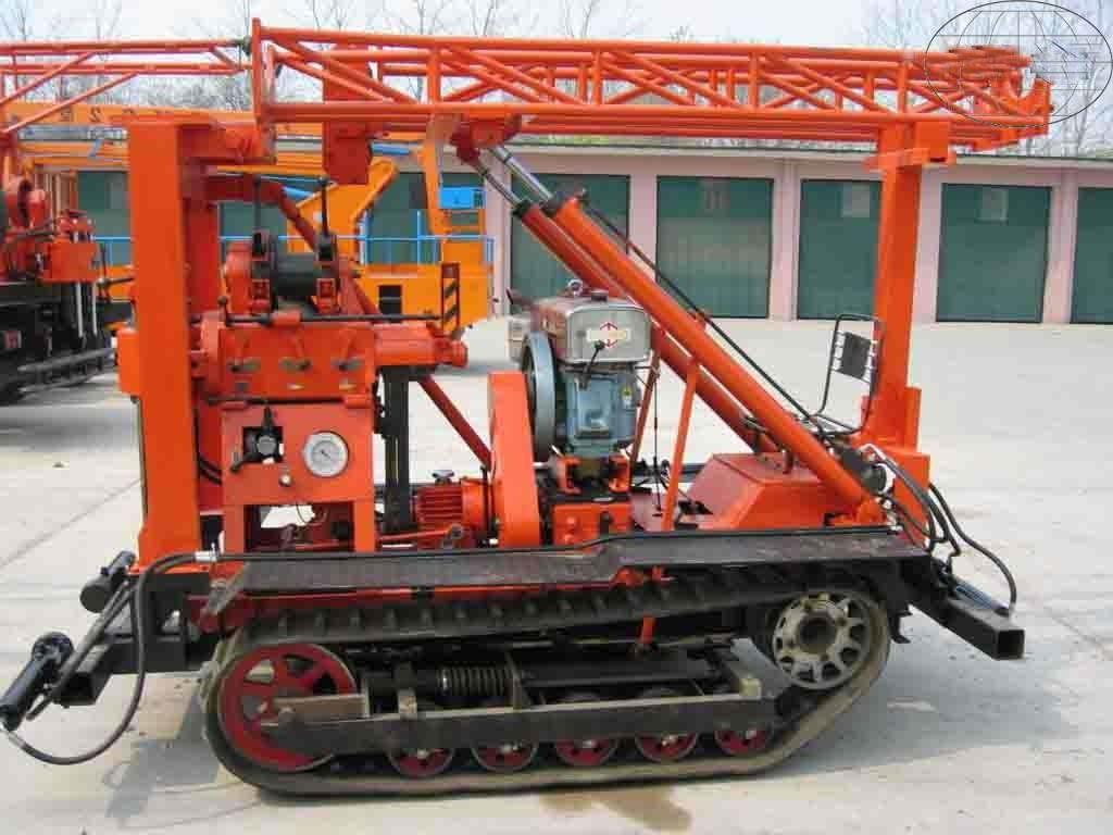Spindle Type Core Drilling Rig / Geological Drilling Rig