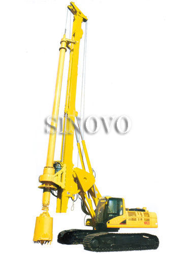rotary drilling rigs Track shoe width 700mm rated power 110kv